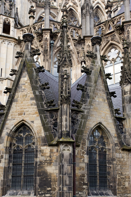 Sint-Janskathedraal, 's--Hertogenbosch, The Netherlands, March 2016
