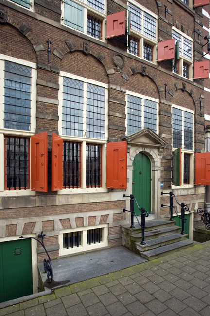 Jodenbreestraat, Amsterdam, The Netherlands, March 2016