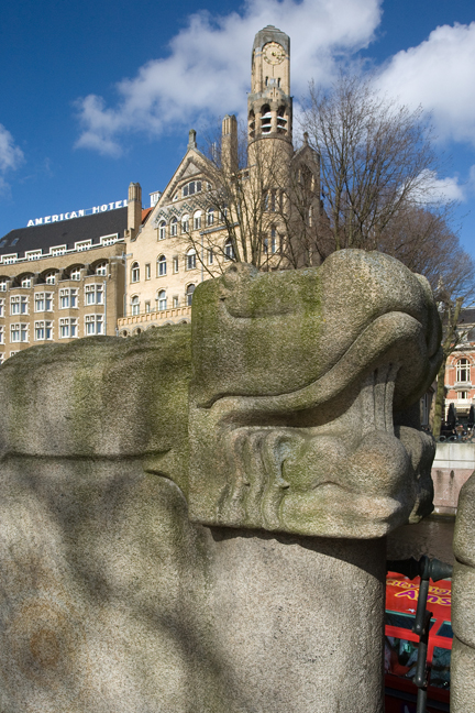 Leidseplein, Amsterdam, The Netherlands, March 2016