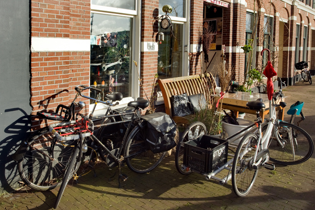 Westerdok, Amsterdam, The Netherlands, March 2016