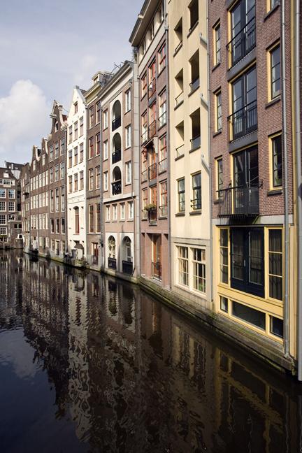 Damrak, Amsterdam, The Netherlands, March 2016