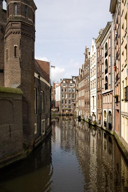 Oudezijds Kolk, Amsterdam, The Netherlands, March 2016