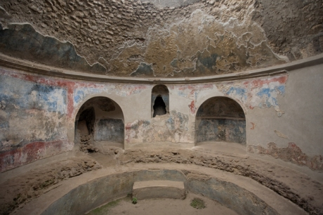 Terme Stabiane, Pompeii, Campania, Italy, July 2017