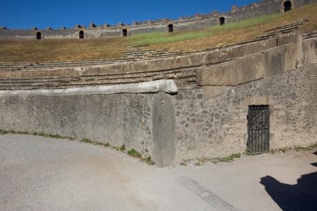 Pompeii, Campania, Italy, July 2017