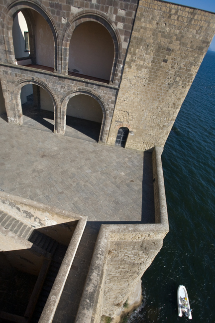 Castel dell'Ovo, Naples, Italy, July 2017