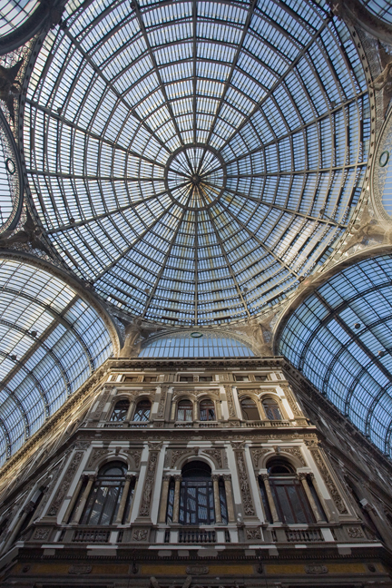 Galleria Umberto I, Naples, Italy, July 2017