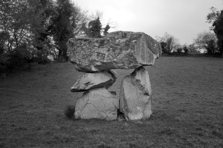 Aghnacliff Portal Tomb, Longford, Ireland 2017