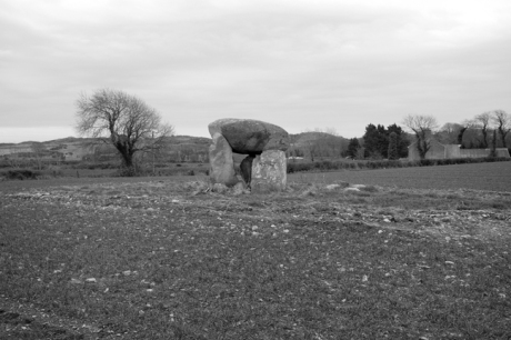 Wateresk Portal Tomb, Down, Ireland 2018