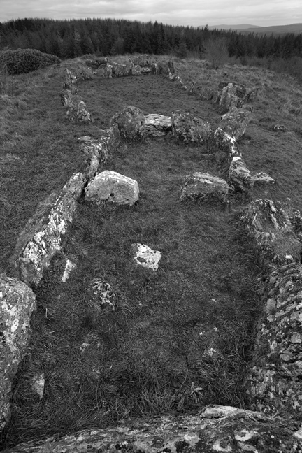 Magheranrush Court Tomb, Sligo,, Ireland 2017