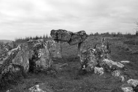 Magheranrush Court Tomb, Sligo,, Ireland 2017