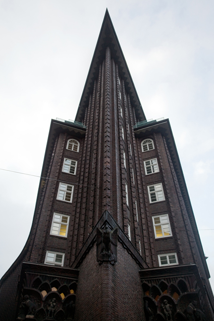 Chilehaus, Hamburg, Germany, January 2018