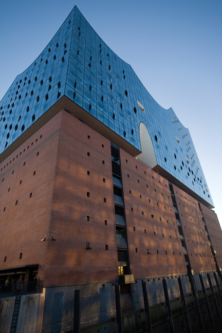 Elbphilharmonie, Hamburg, Germany January 2018