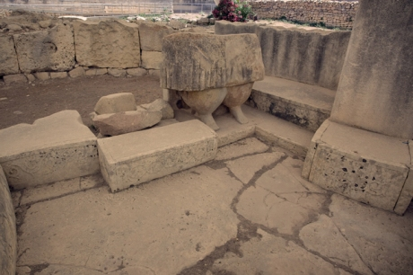 The Tarxien Temples. Tarxien, Malta, July 2018