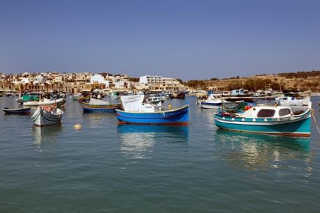Marsaxlokk Bay, Malta, July 2018