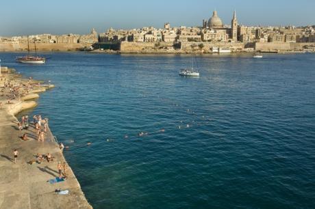 Tigné Point, Sliema, Malta, July 2018
