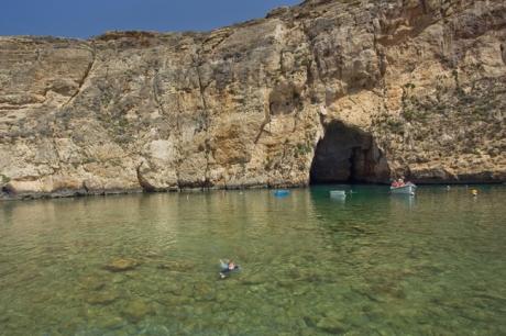 Dwejra Bay, Gozo, Malta, July 2018