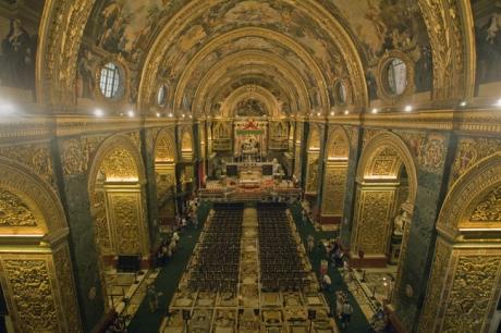 St. John's Cathedral, Valletta, Malta, July 2018
