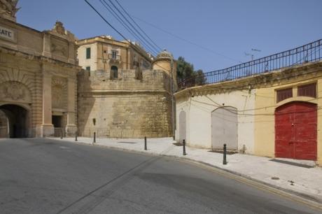 Victoria Gate, Liesse, Valletta, Malta, July 2018