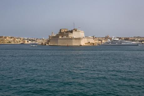 Fort St. Angelo, Birgu, Malta, July 2018