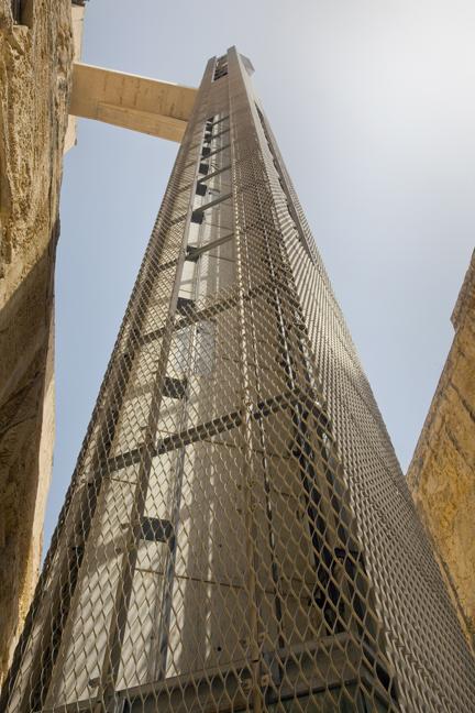 Barakka Lift, Valletta, Malta, July 2018
