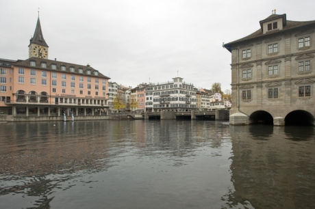 Limmatquai, Zürich, Switzerland, November 2018