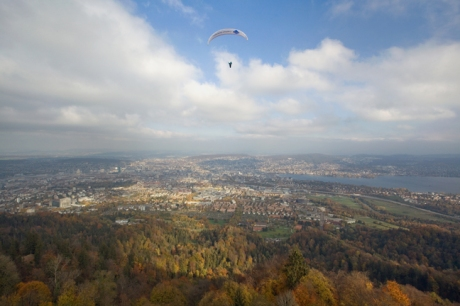 Üetliberg, Zürich, Switzerland, November 2018