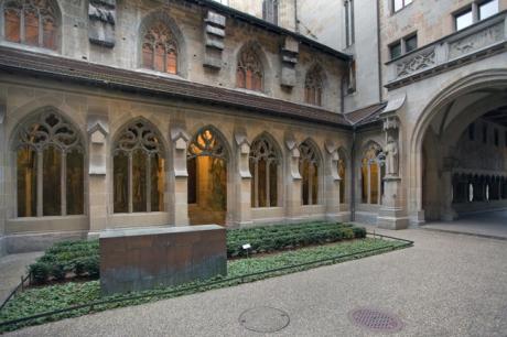 Fraumünster Kirche, Zürich, Switzerland, November 2018