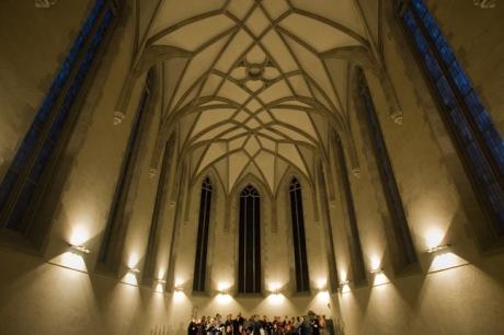 Wasserkirche, Limmatquai, Zürich, Switzerland, November 2018
