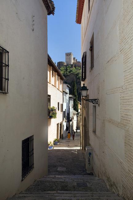 Albaicin, Granada, Spain, April 2019
