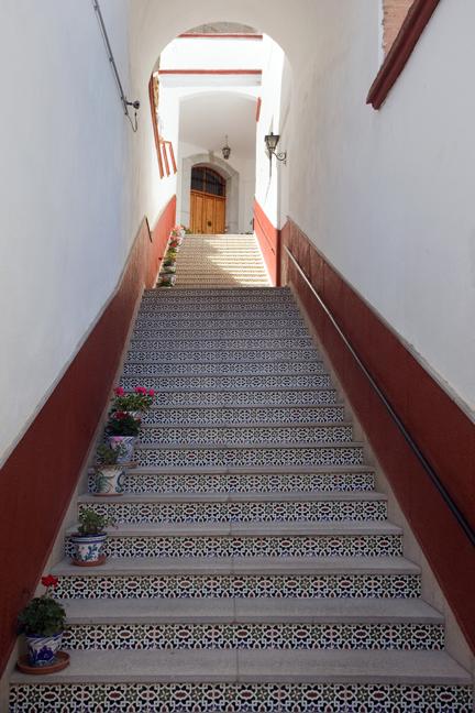 Calle de San Juan de los Reyes, Albaicin, Granada, Spain, April 2019