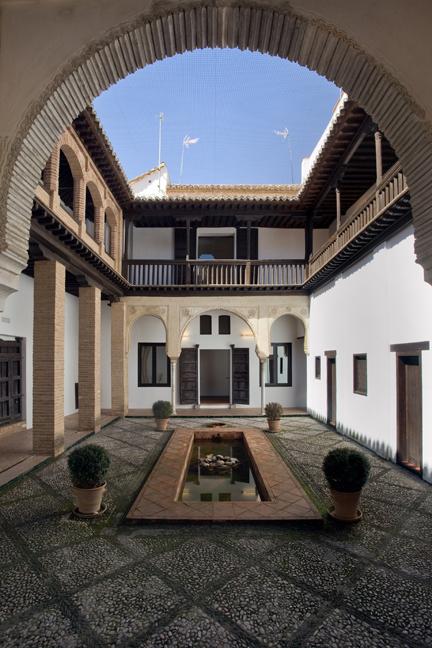 Casa árabe de Horno del Oro, Granada, Spain, April 2019