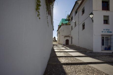 Cuesta de San Agustin, Granada, Spain, April 2019