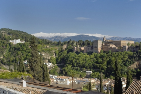 Mirador San Nicolás, Granada, Spain, April 2019