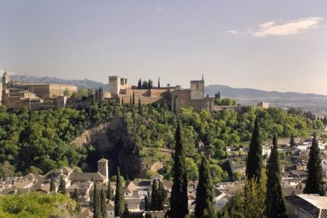 Mirador San Nicolás, Granada, Spain, April 2019