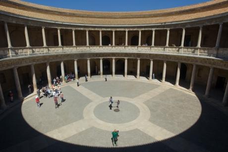 Palacio de Carlos V, Granada, Spain, April 2019