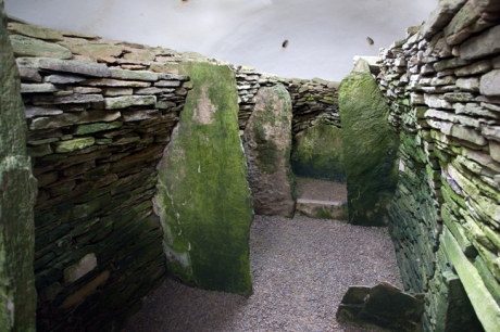 Unstan Chambered Cairn, Orkney, Scotland, July 2019