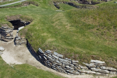 Skara Brae, Orkney, Scotland, July 2019