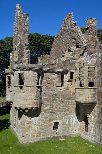 Earl's Palace, Kirkwall, Orkney, Scotland, July 2019 © Tom O'Connor 2019