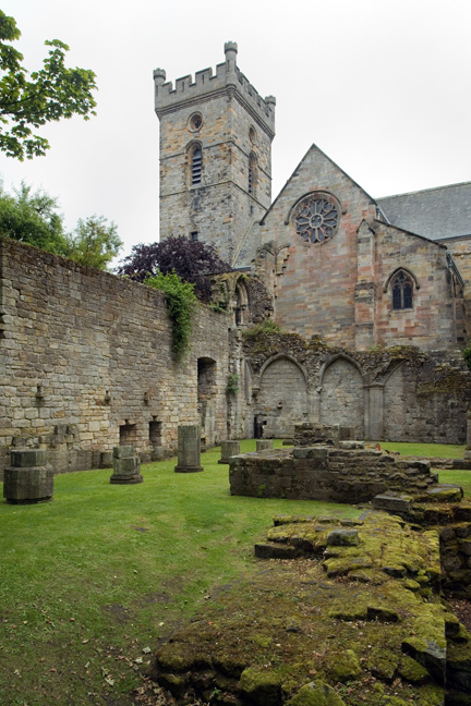 Culross Abbey, Culross, Dunfermline, Scotland, July 2019 © Tom O'Connor 2019