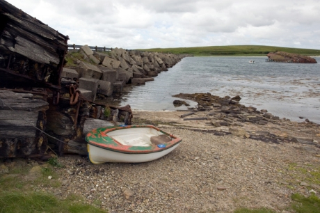 Churchill Barriers, Lamb Holm, Orkney, Scotland, July 2019 © Tom O'Connor 2019