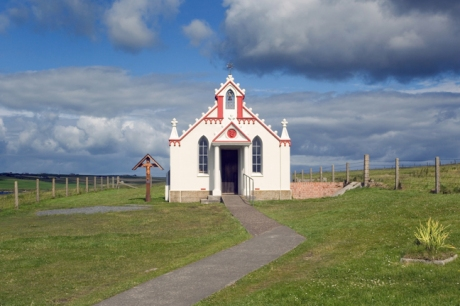 Italian Chapel, Lamb Holm, Orkney, Scotland, July 2019 © Tom O'Connor 2019