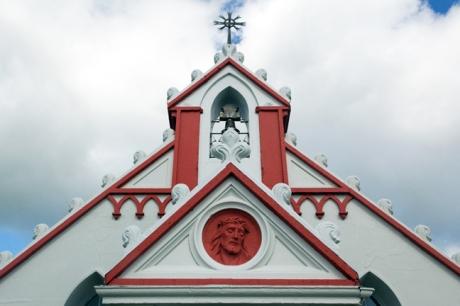 Italian Chapel, Lamb Holm, Orkney, Scotland, July 2019
