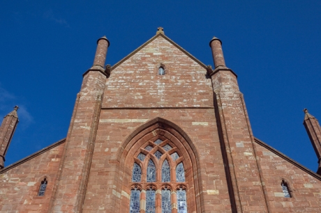 St. Magnus Cathedral, Kirkwal, Orkney, Scotland, July 2019 © Tom O'Connor 2019