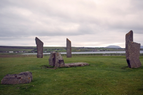 Standing Stones of Stenness, Orkney, Scotland, July 2019
