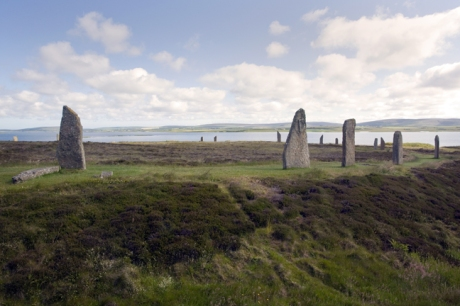 Ring of Brodgar, Orkney, Scotland, July 2019