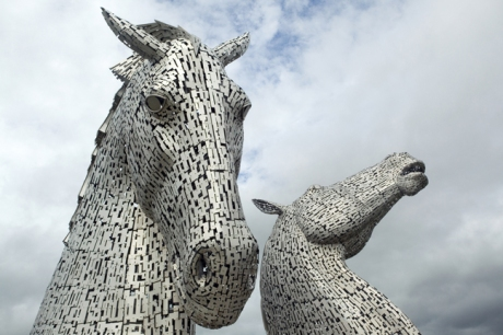 The Kelpies, Falkirk, Scotland, July 2019 © Tom O'Connor 2019