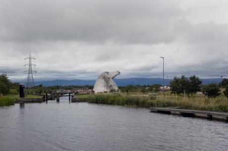 The Kelpies, Falkirk, Scotland, July 2019 © Tom O'Connor 2019