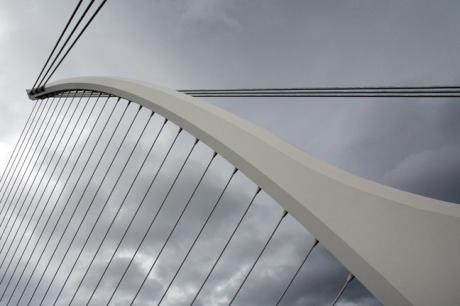 Samuel Beckett Bridge, Dublin, Ireland, May 2017 © Tom O'Connor 2017