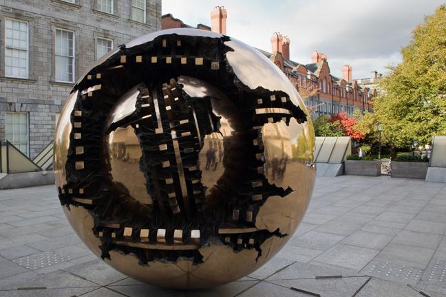 Trinity College, Dublin, Ireland, October 2019 © Tom O'Connor 2019