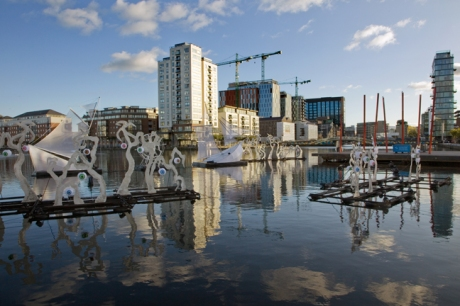 Grand Canal Docks, Dublin, Ireland, October 2019 © Tom O'Connor 2019